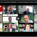 """Mesajul transmis de Constantin Rudnițchi, Directorul executiv CLCC, în cadrul dezbaterii online """"Business în Noua Economie"""" (video)"""