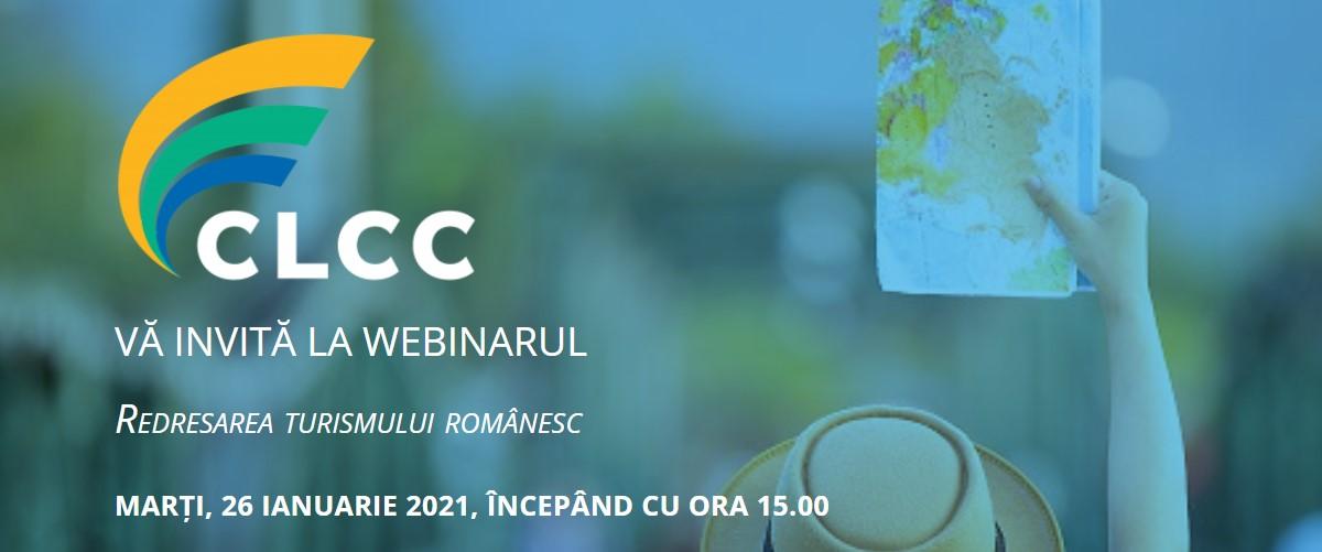 REDRESAREA TURISMULUI ROMÂNESC – TEMA WEBINARULUI COALIȚIEI PENTRU LIBERTATEA COMERȚULUI ȘI A COMUNICĂRII DIN 26 IANUARIE