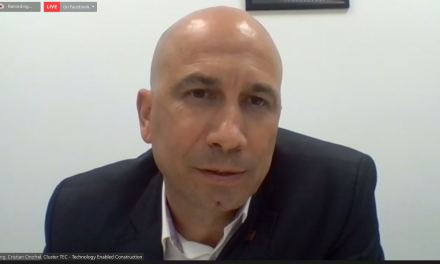 Cristian Onofrei, Responsabil Dezvoltare Programe, Cluster TEC: Mizați pe Ciclul de Viață al Construcției, conceptul simplificator, din evoluția domeniului construcțiilor