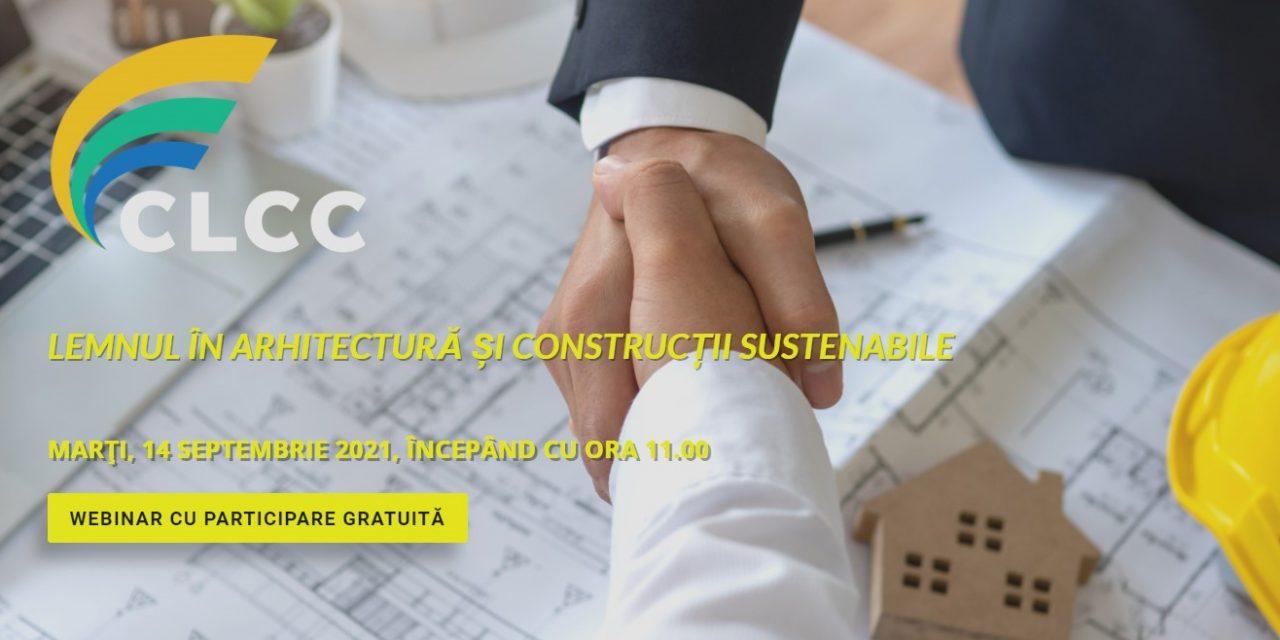 """""""Lemnul în arhitectură și construcții sustenabile"""" – o nouă întâlnire a Coaliției pentru Libertatea Comerțului și a Comunicării"""
